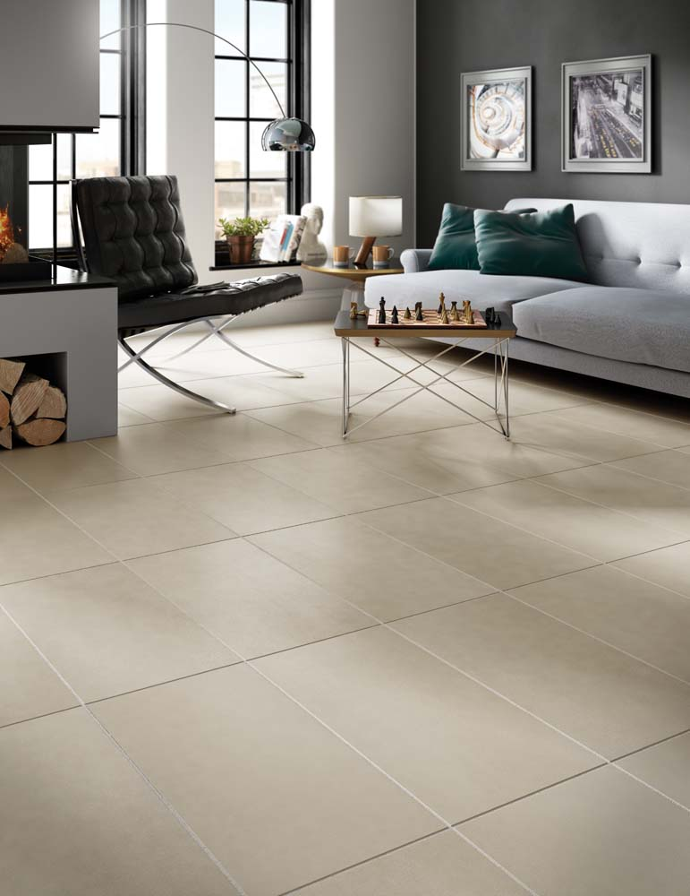 Daltile 39 s new tile collections offer unique textures for Living room floor tiles