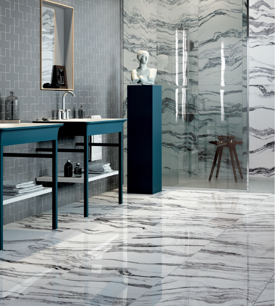 Artistic Tiles Allora Eloquently Mimics Italian Marble - Artistic tile warehouse sale